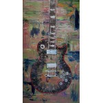 """Tobacco-Burst"" Les Paul Original Painting"