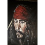 &quot;The Captain&quot; Original Painting